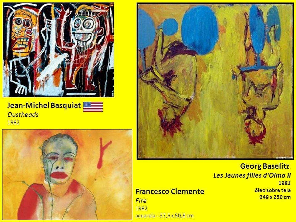 Jean-Michel Basquiat Georg Baselitz Francesco Clemente Dustheads 1982