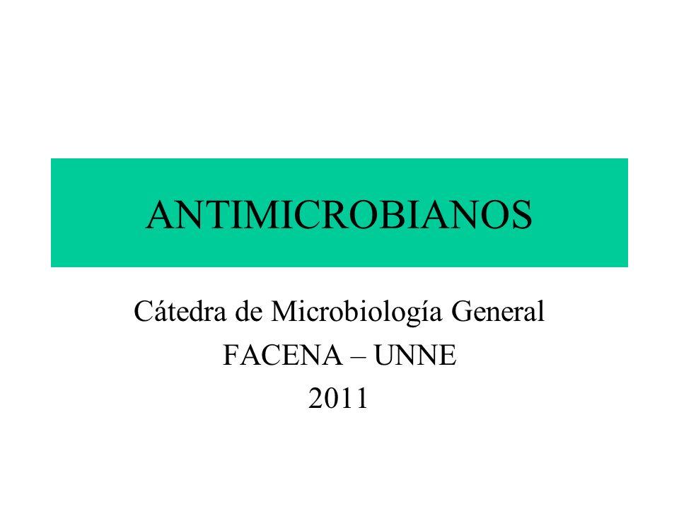Cátedra de Microbiología General FACENA – UNNE 2011