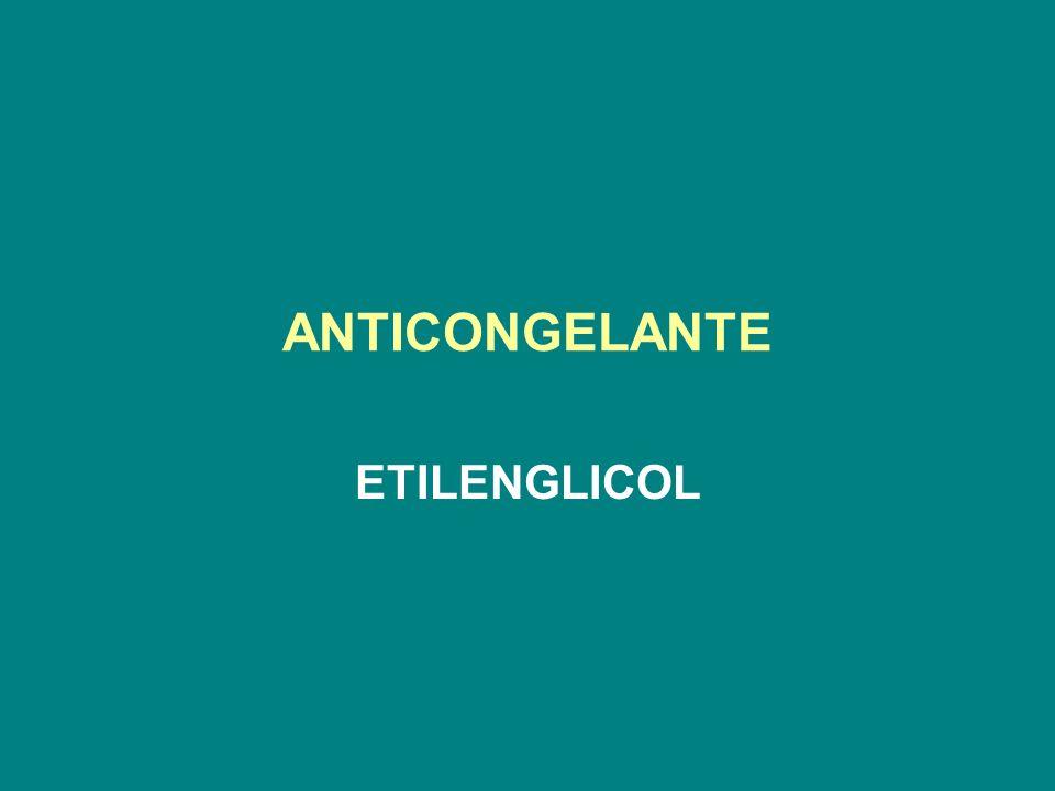ANTICONGELANTE ETILENGLICOL