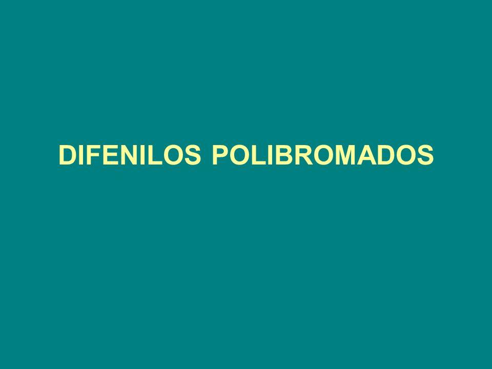 DIFENILOS POLIBROMADOS
