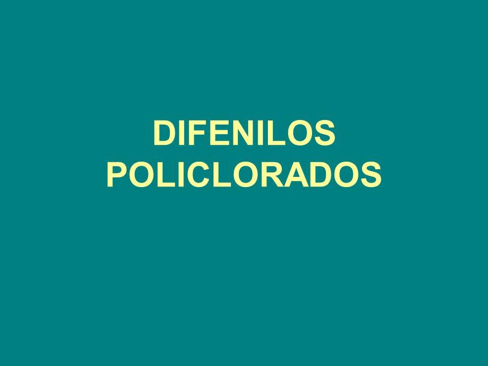 DIFENILOS POLICLORADOS