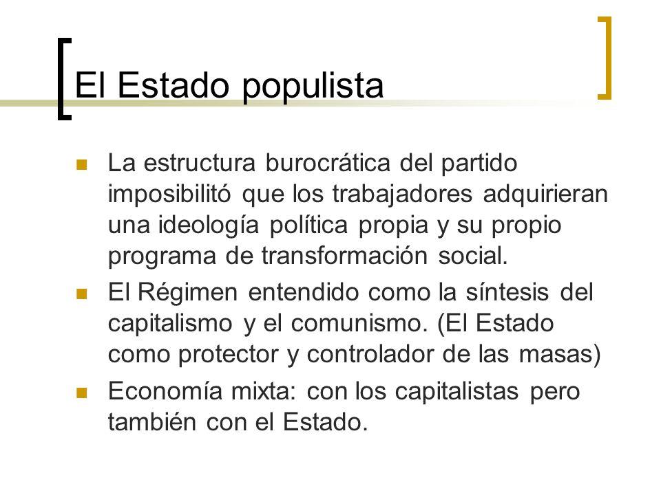 El Estado populista