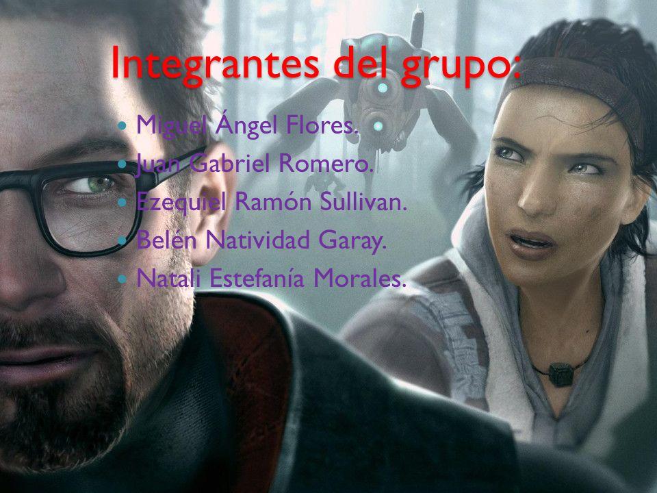 Integrantes del grupo: