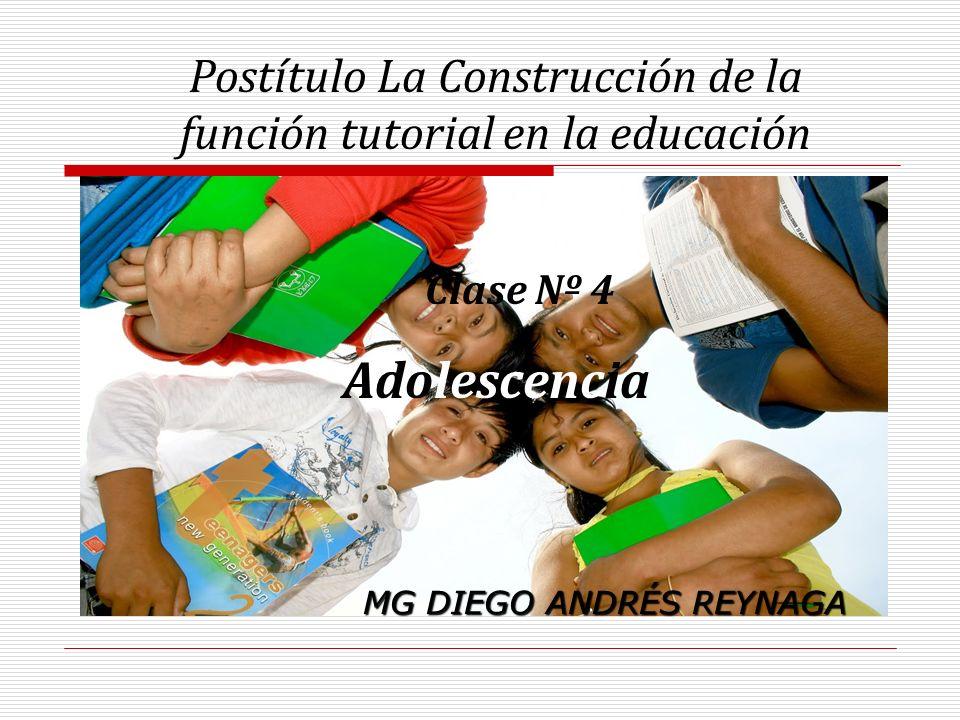 Postítulo La Construcción de la función tutorial en la educación