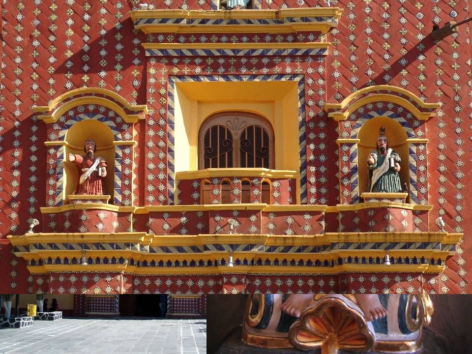 Santa María de Tonantzitla, Puebla, s. XVI-XIX