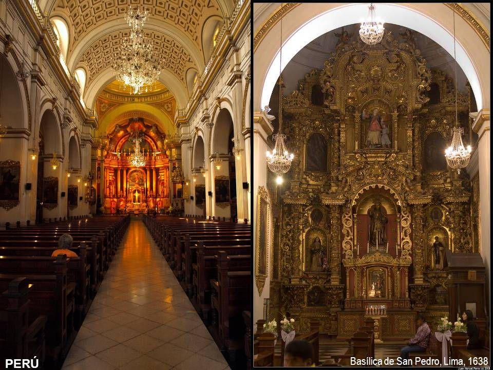 PERÚ PERÚ Basílica de San Pedro, Lima, 1638