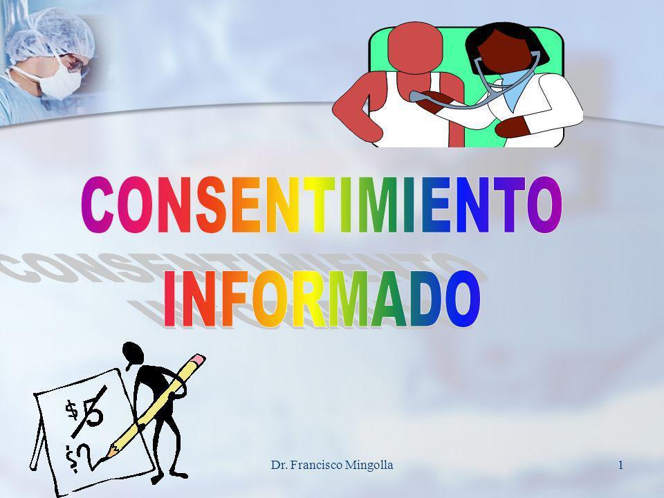 CONSENTIMIENTO INFORMADO Dr. Francisco Mingolla