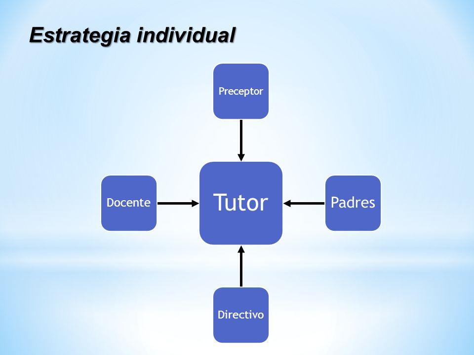Estrategia individual