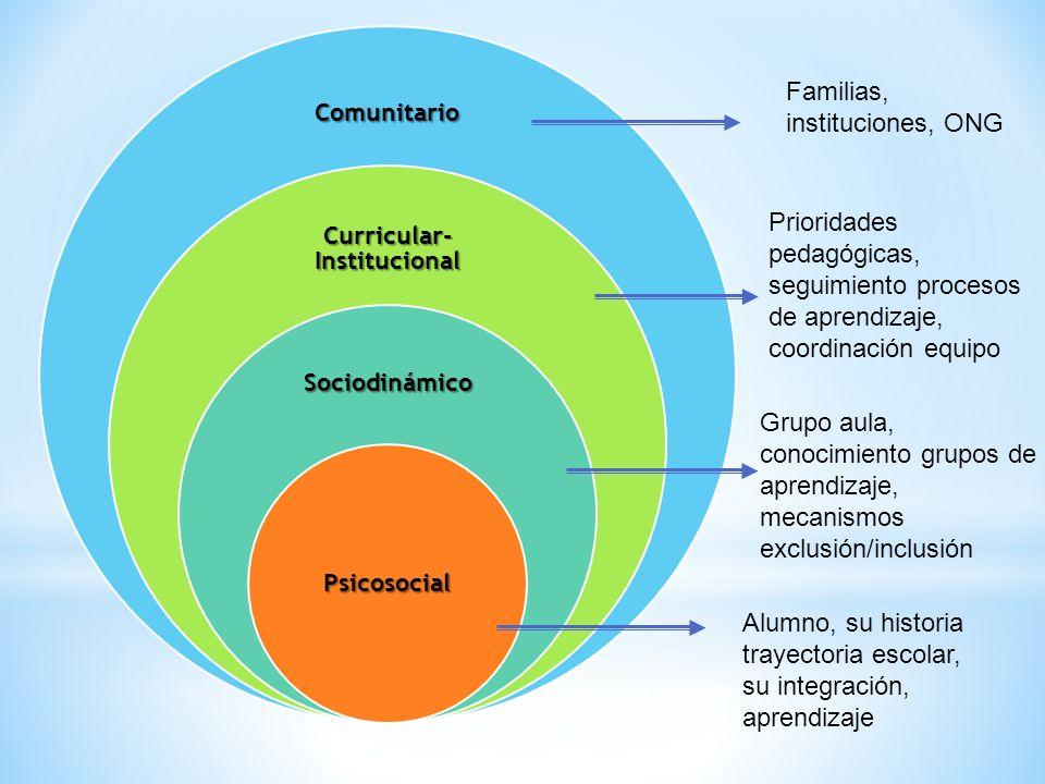 Curricular- Institucional