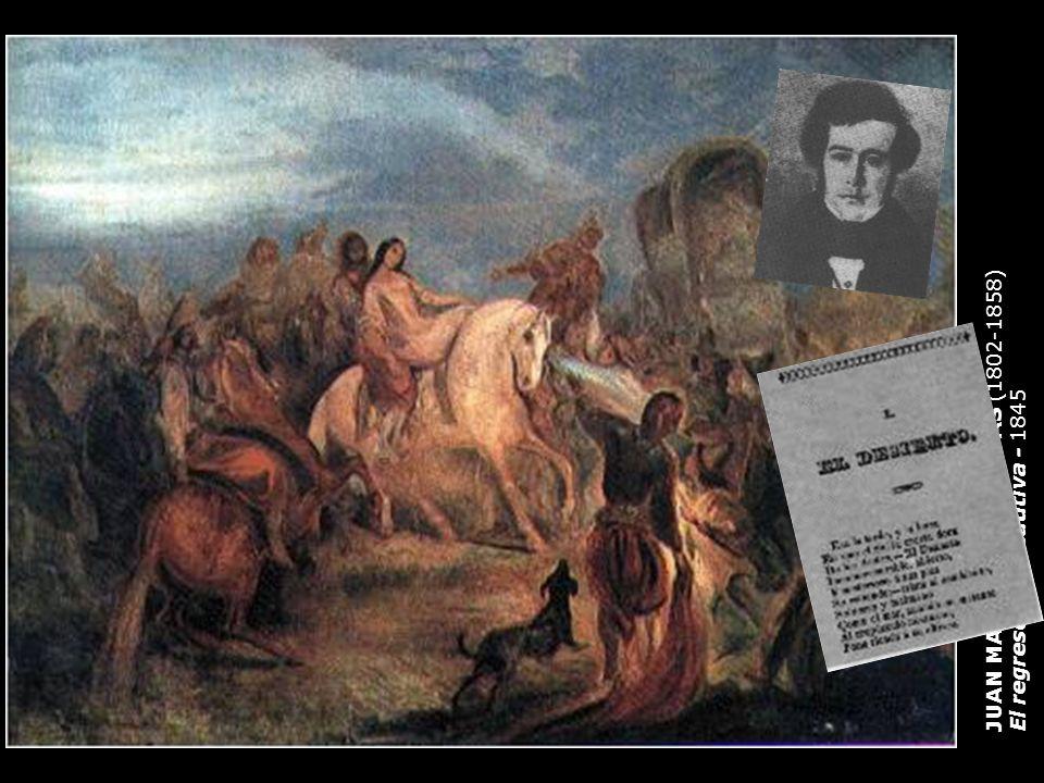 JUAN MAURICIO RUGENDAS (1802-1858) El regreso de la cautiva - 1845
