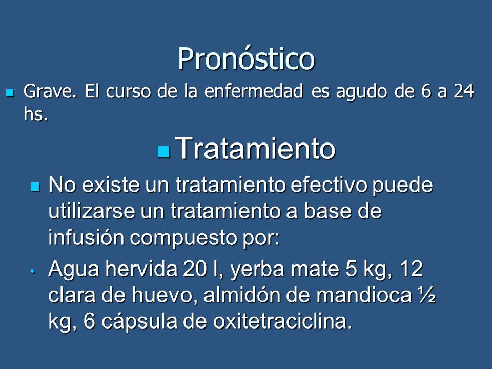 Pronóstico Tratamiento
