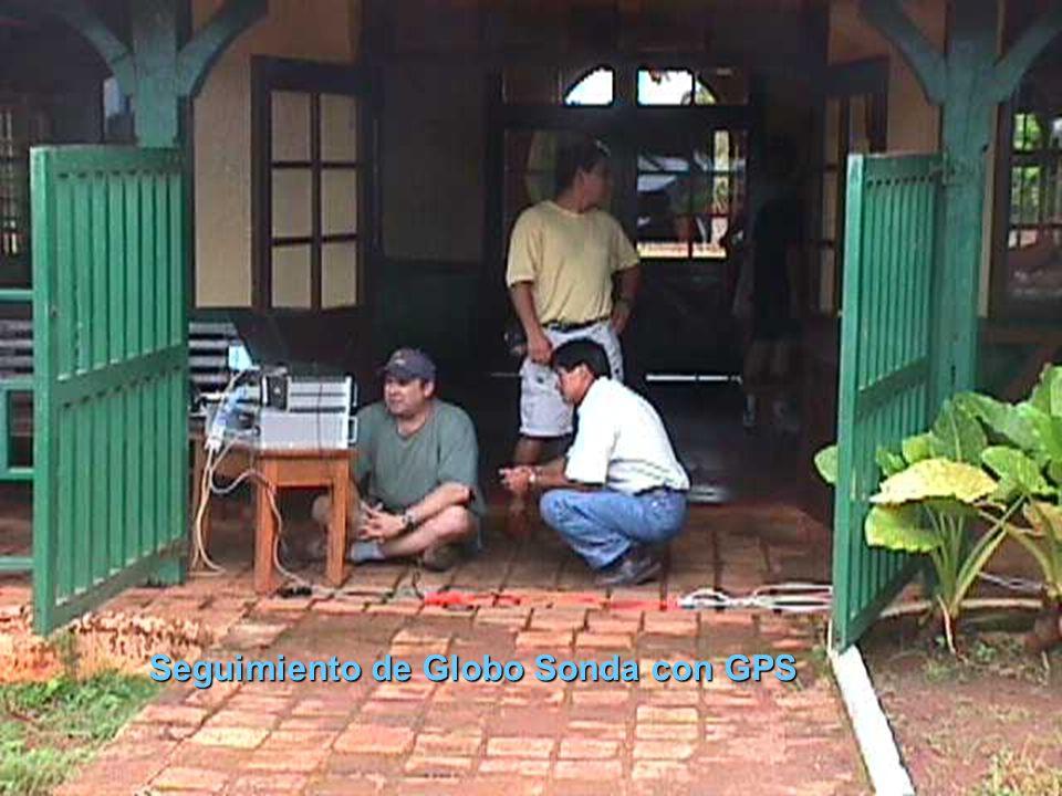 Seguimiento de Globo Sonda con GPS