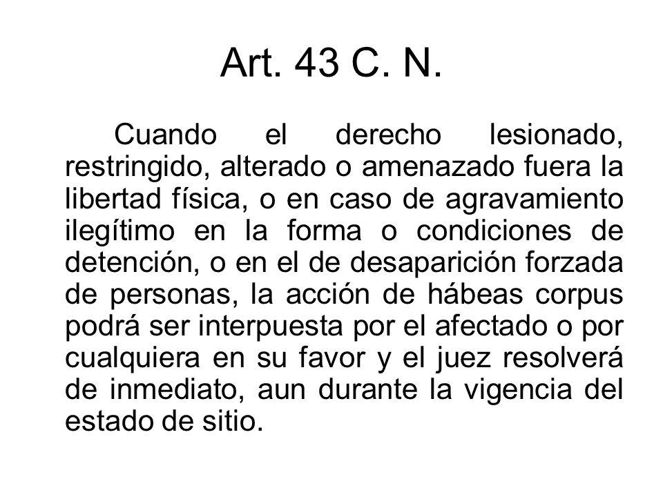 Art. 43 C. N.