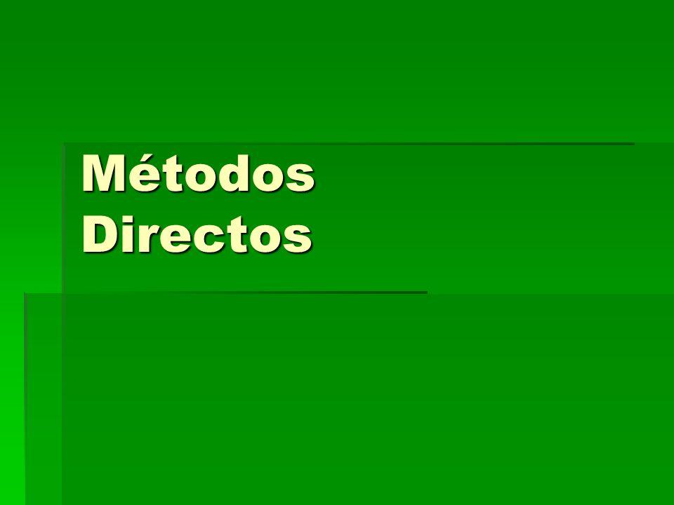 Métodos Directos