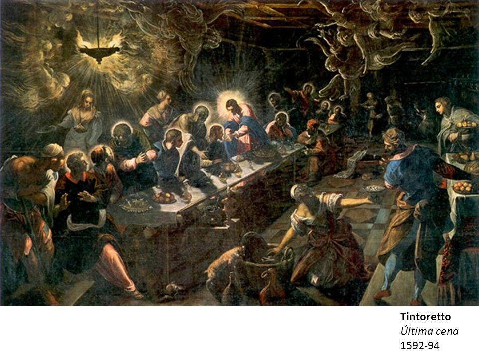 Tintoretto Última cena 1592-94