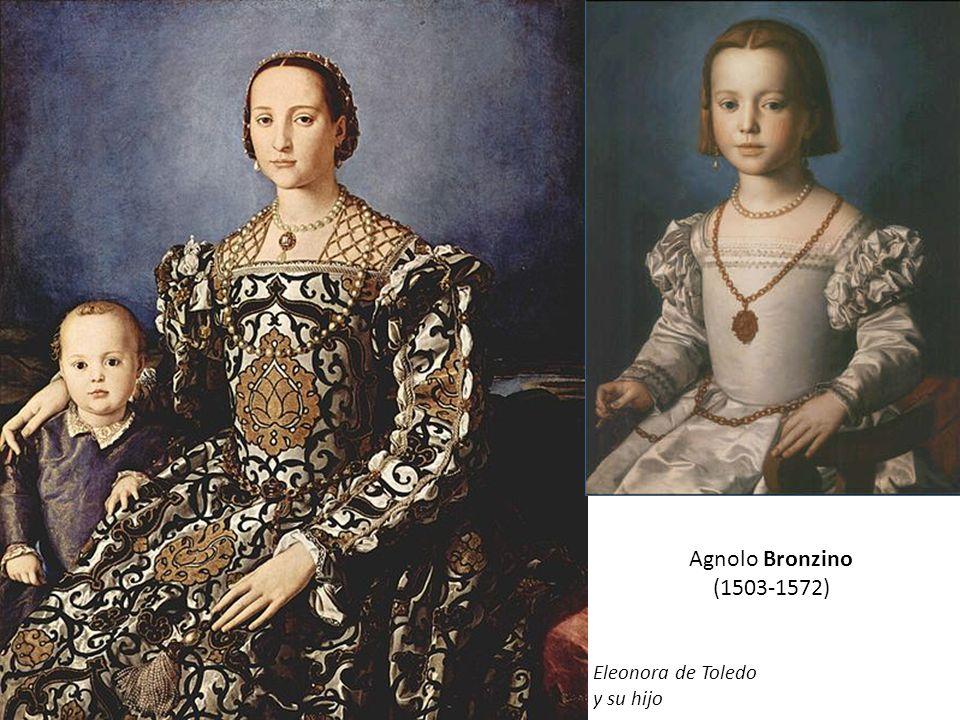 Agnolo Bronzino (1503-1572) Cosme I con su armadura Eleonora de Toledo
