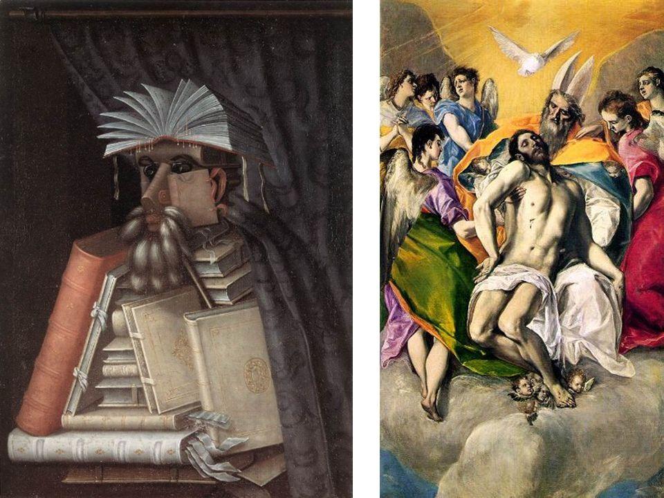Arcimboldo El bibliotecario 1566 Óleo sobre lienzo 97 x 71 cm
