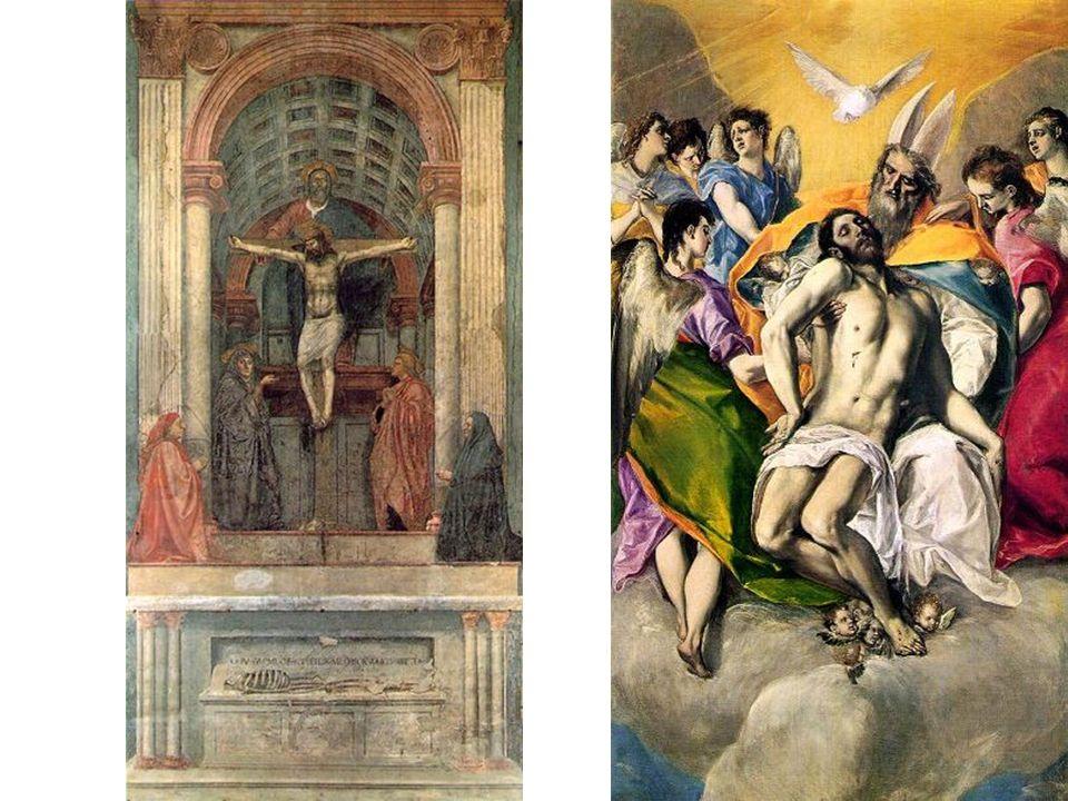 Domenikos Theotokopoulos 1541-1614 La Trinidad Toledo - 1577-80