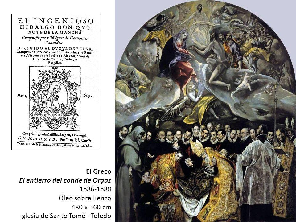 El Greco El entierro del conde de Orgaz. 1586-1588.