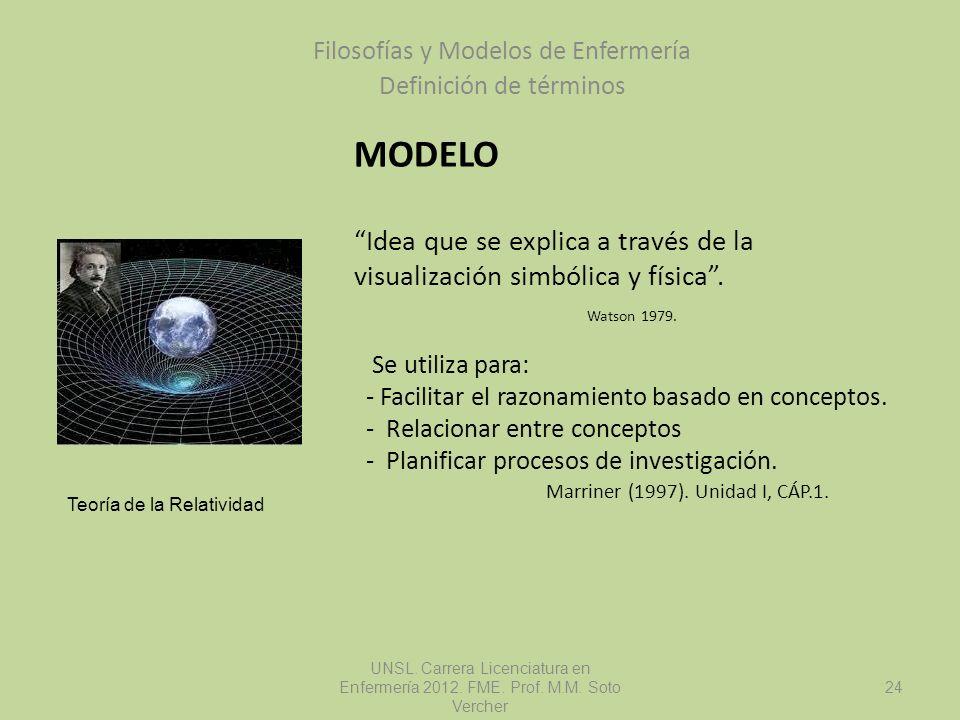 Filosofías y Modelos de Enfermería