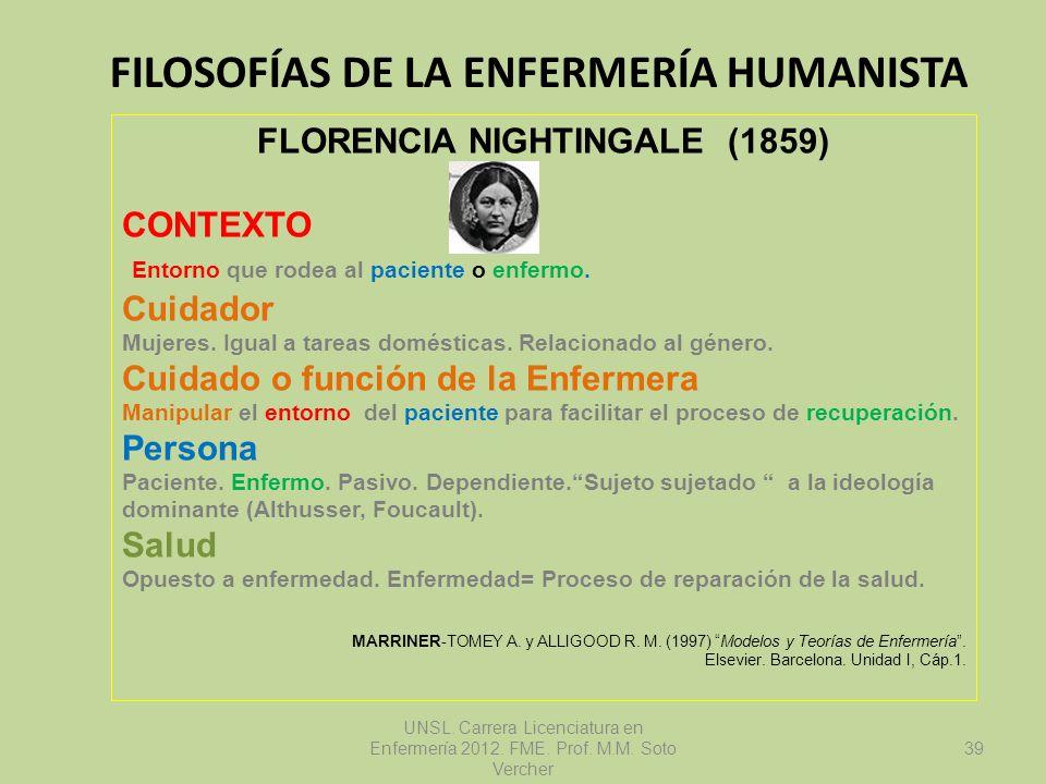Filosofías de la Enfermería Humanista