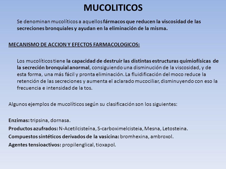 MUCOLITICOS