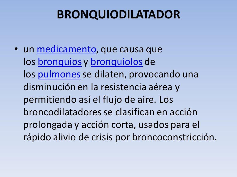 BRONQUIODILATADOR