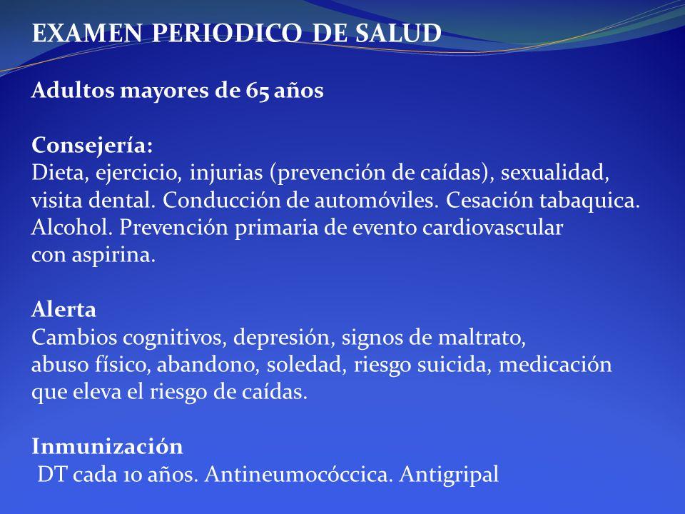 EXAMEN PERIODICO DE SALUD