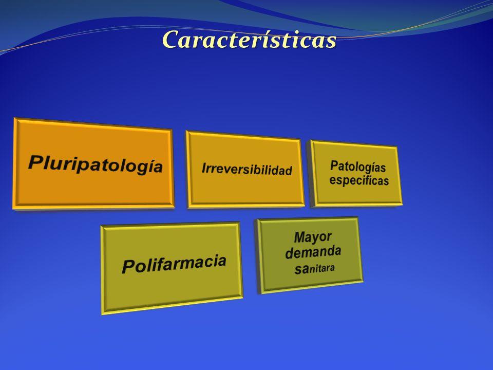 Patologías especificas Mayor demanda sanitara