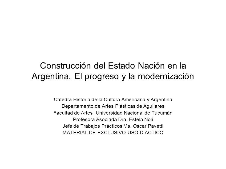 Construcción del Estado Nación en la Argentina