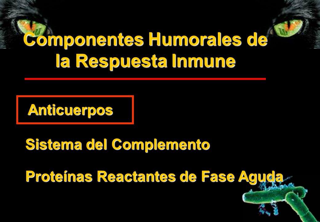 Componentes Humorales de la Respuesta Inmune