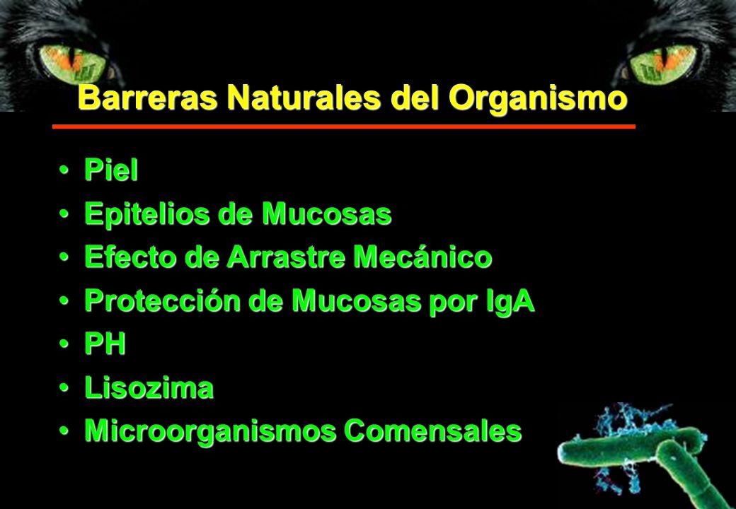 Barreras Naturales del Organismo