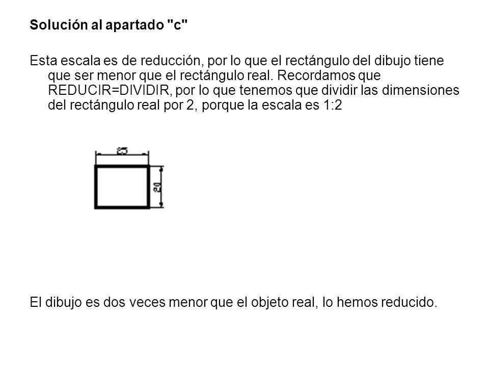 Solución al apartado c