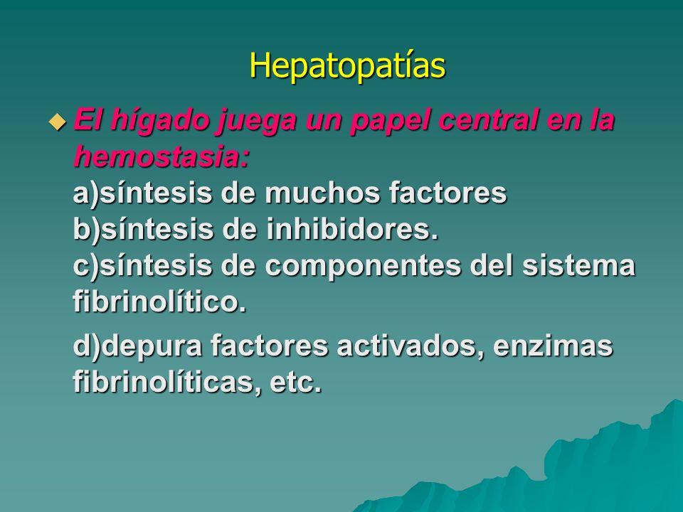 Hepatopatías