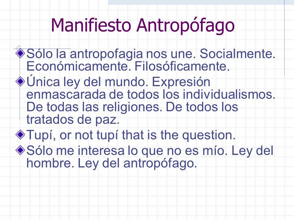 Manifiesto Antropófago