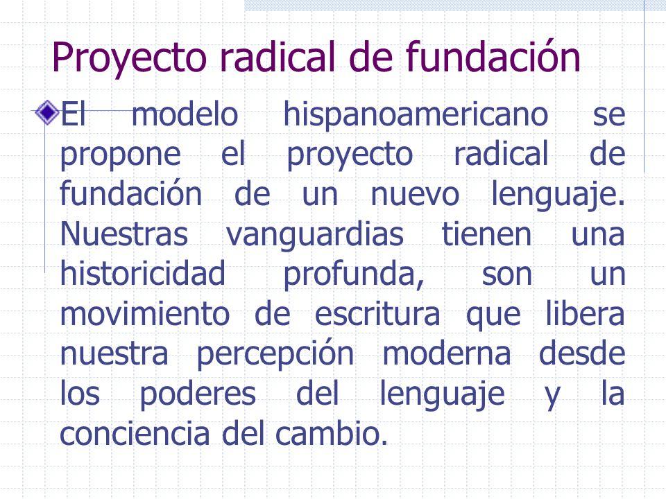 Proyecto radical de fundación