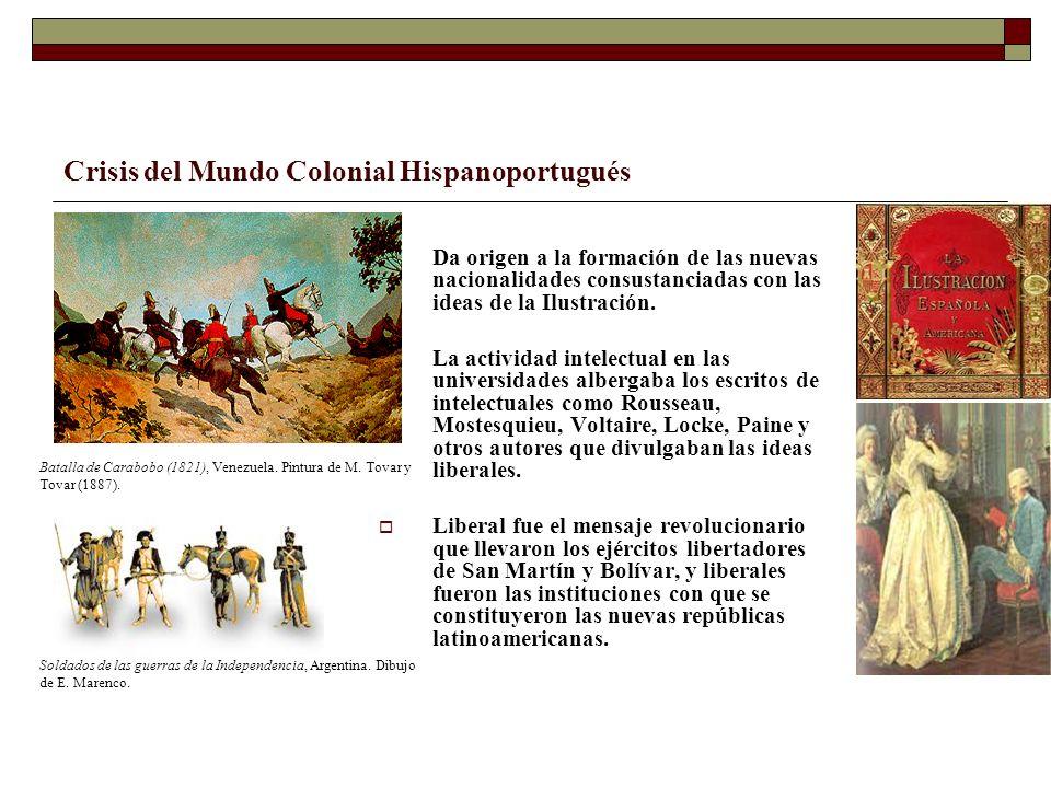 Crisis del Mundo Colonial Hispanoportugués