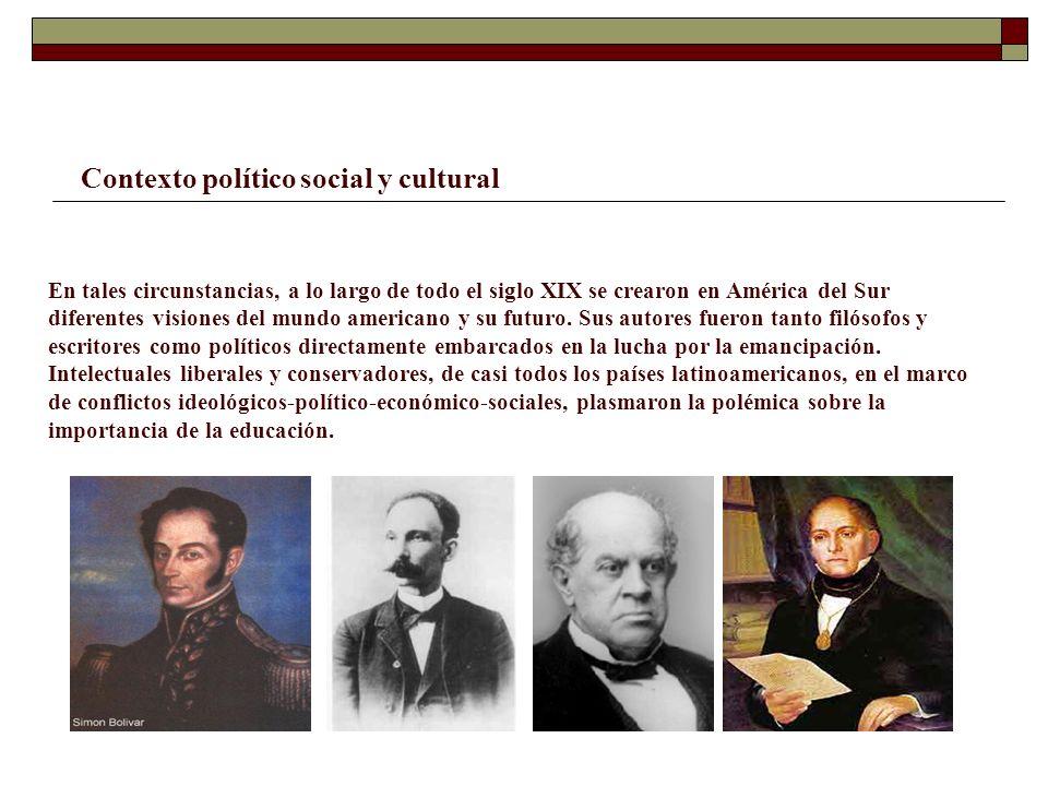 Contexto político social y cultural