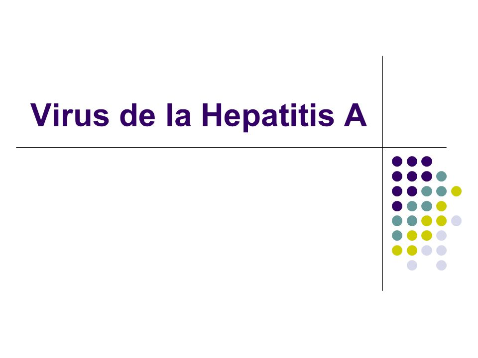 Virus de la Hepatitis A