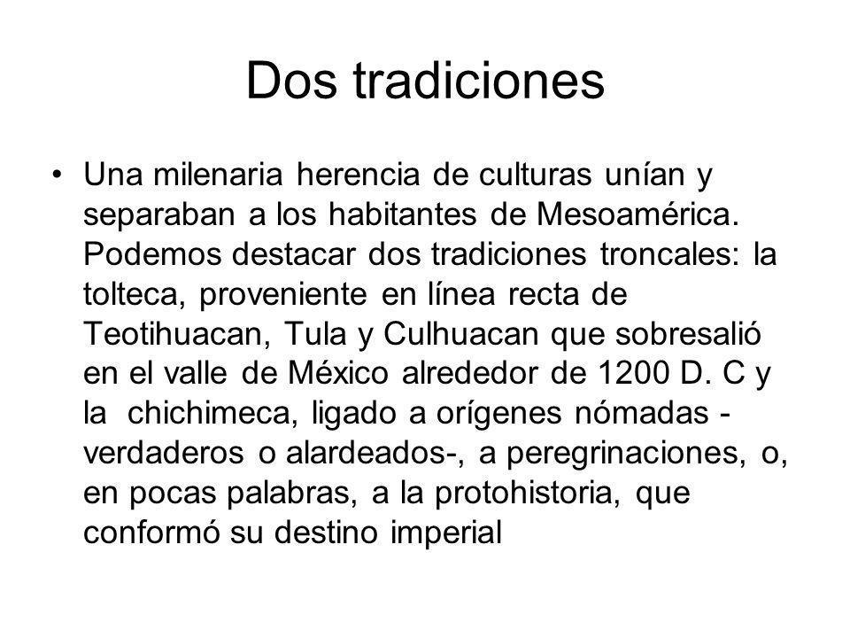 Dos tradiciones