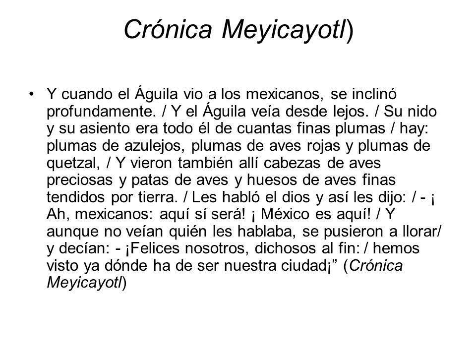 Crónica Meyicayotl)