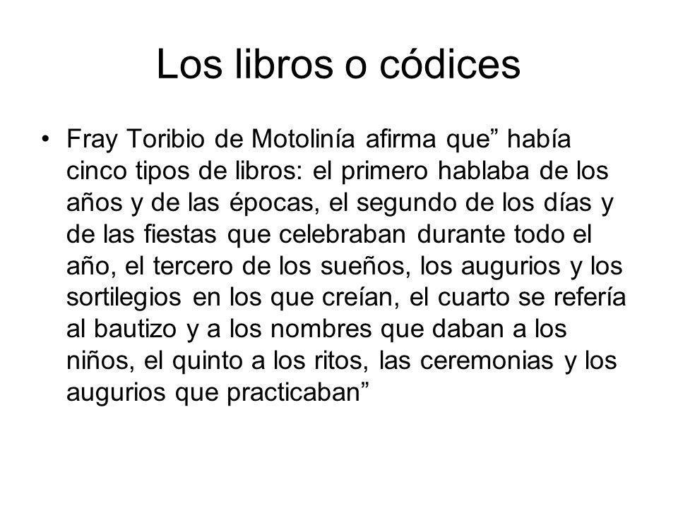 Los libros o códices