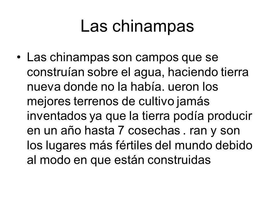 Las chinampas