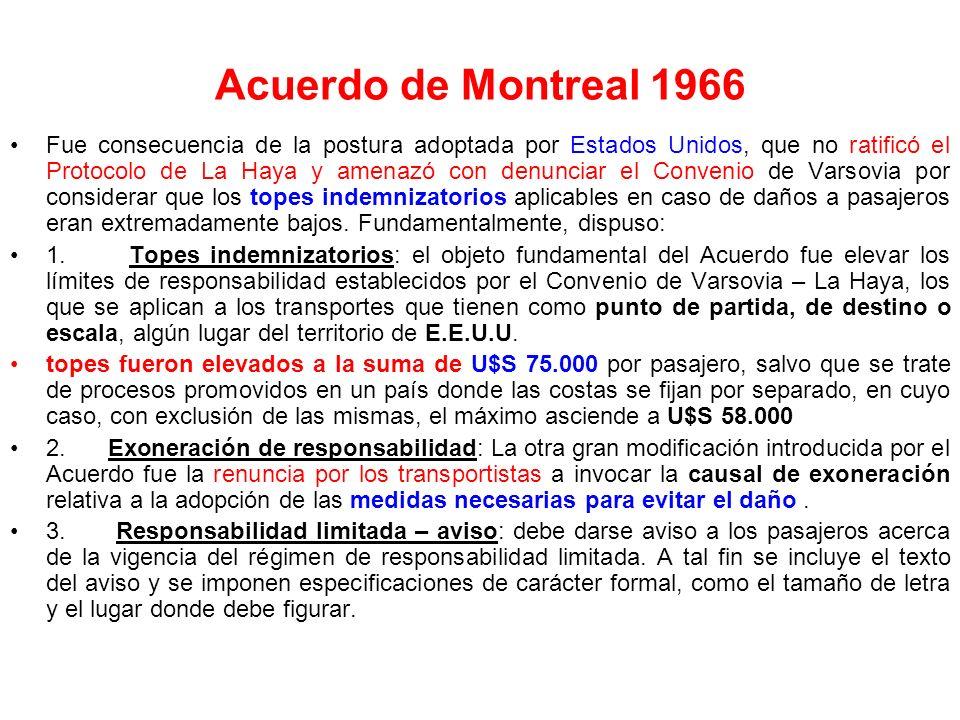 Acuerdo de Montreal 1966