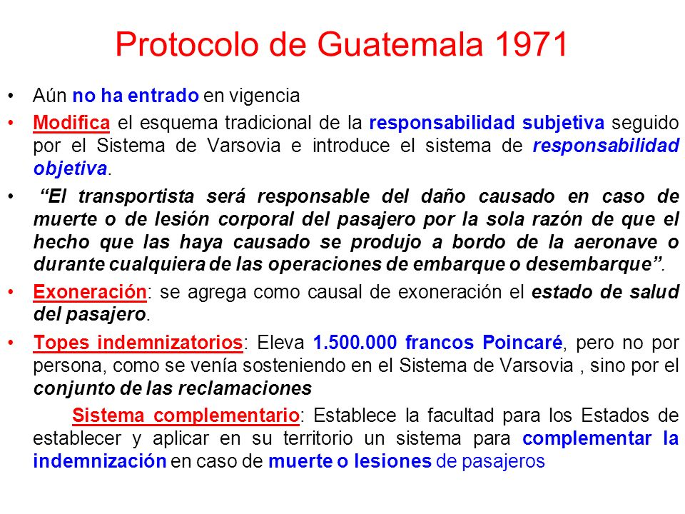 Protocolo de Guatemala 1971