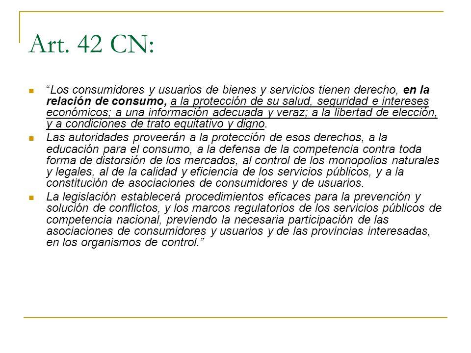 Art. 42 CN: