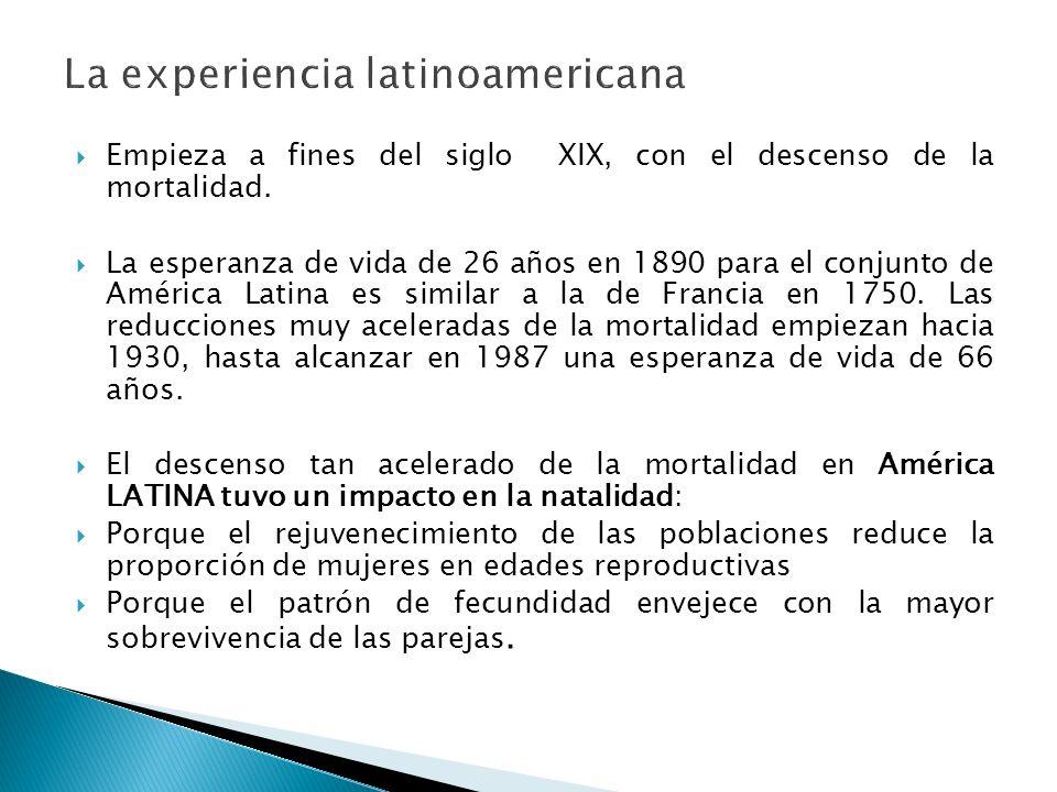 La experiencia latinoamericana