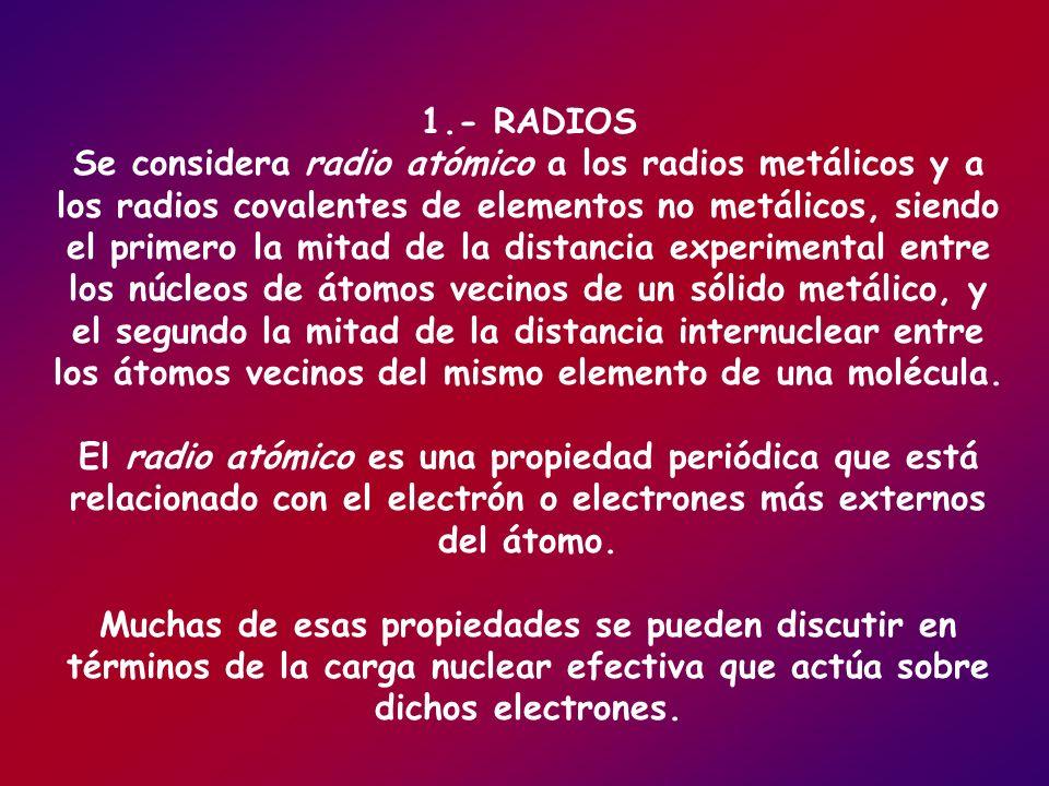 1.- RADIOS