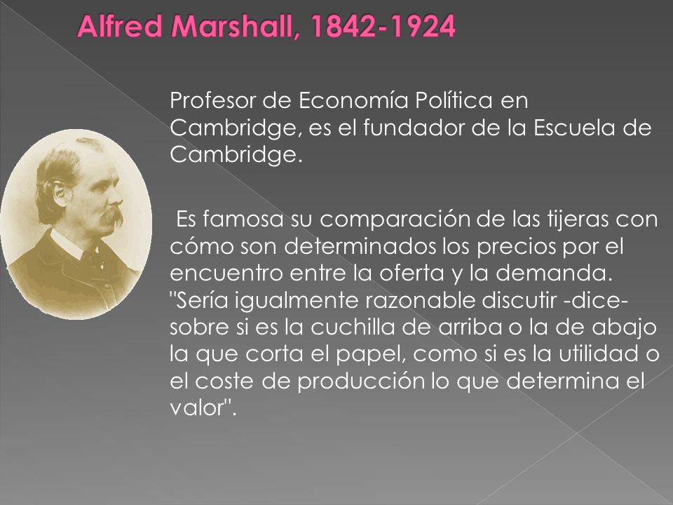 Alfred Marshall, 1842-1924