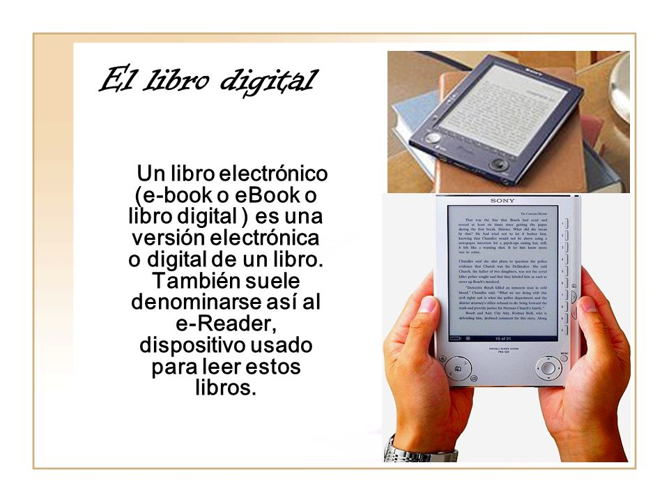 El libro digital